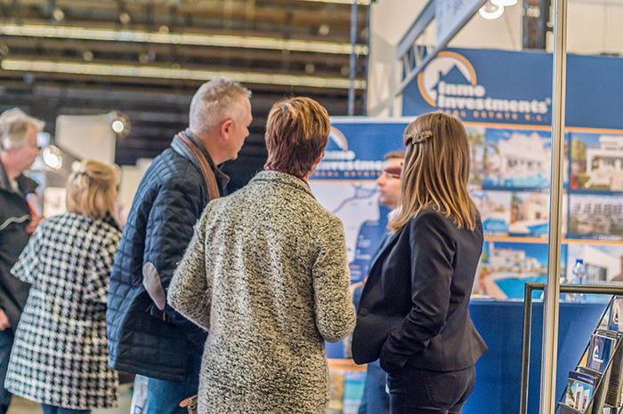 Second Home Expo Antwerp Belgium 2018: speaking with Belgian buyers