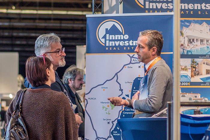 Second Home Expo Antwerp Belgium 2018: promoting our properties
