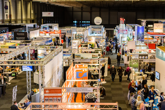 Second Home Expo Ghent Belgium 2018: the exhibition hall