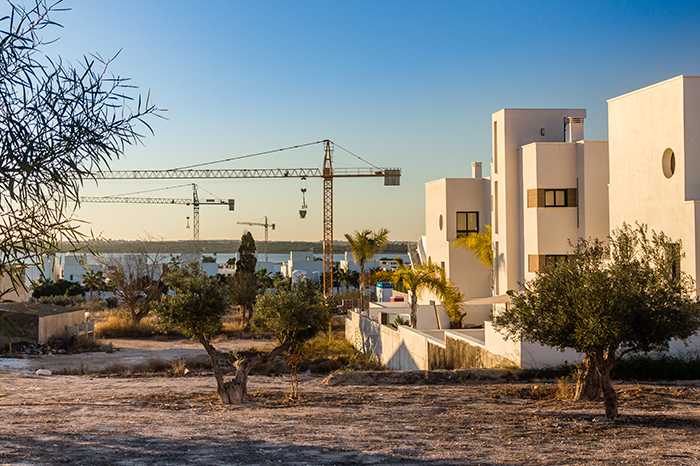 New build properties in Spain: new homes under construction